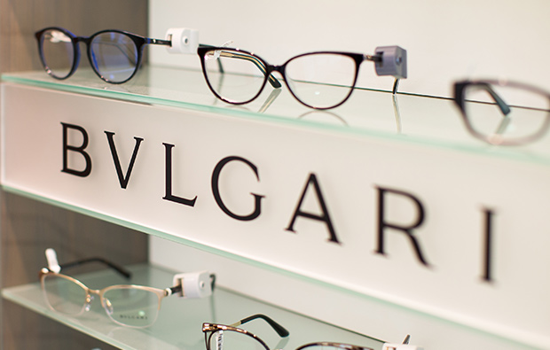 Bulgari glasses.