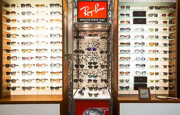 Ray Ban glasses and sunglasses