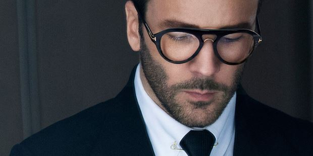 Tom Ford wearing Tom Ford Glasses